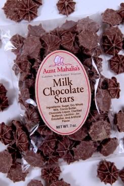 Milk Chocolate Stars - 7 oz.